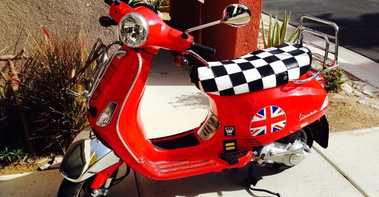 Ultimate Mod Vespa LX seat cover