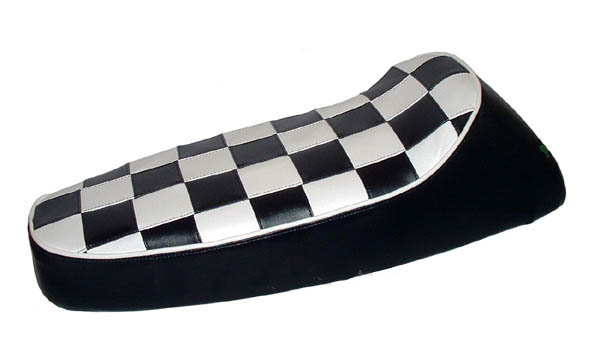 Ancillotti Fastback PX Ska Scooter Seat Cover Vespa Checkers