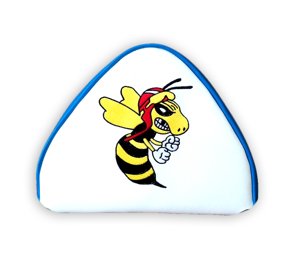 Angry Wasp Cuppini Scooter Backrest Pad Cover Back rest Vespa