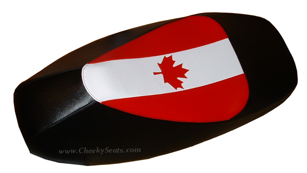 Canadian Flag Vespa Canada Scooter Seat Cover GTS 250 300