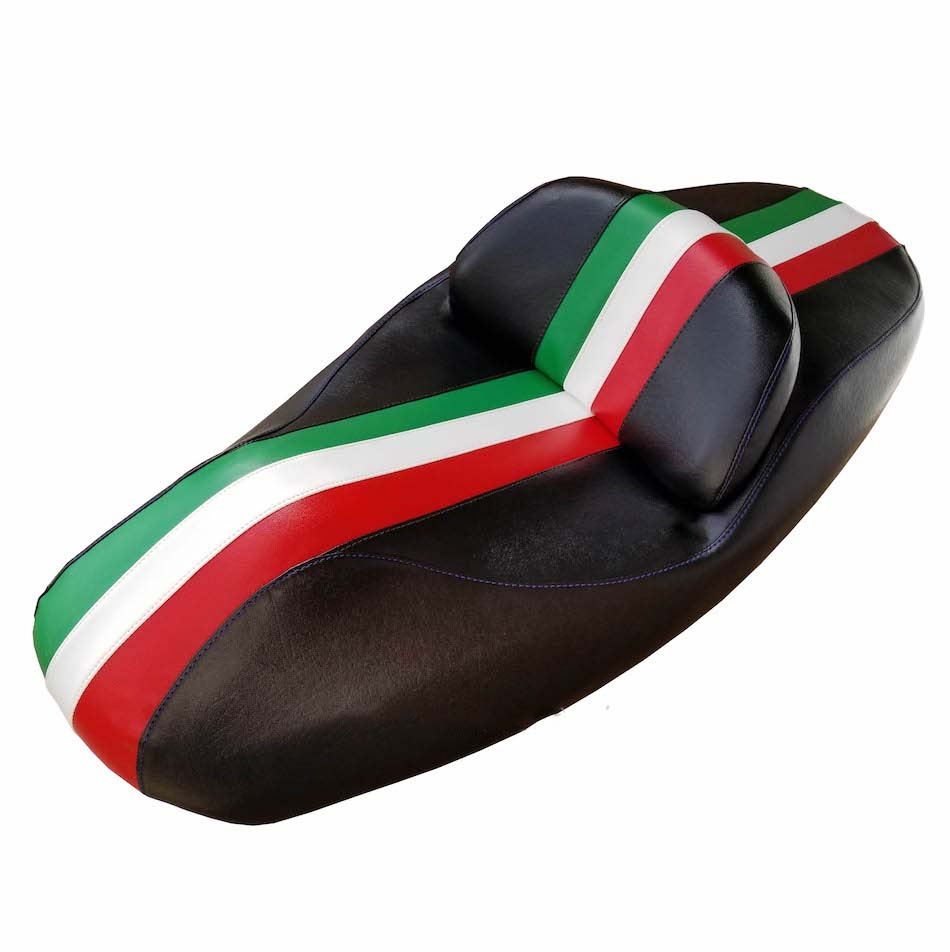 Honda Reflex Scooter Seat Cover Italian Racing Stripe