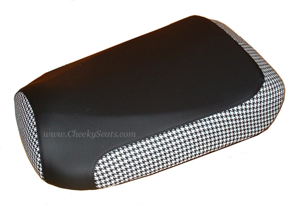 Honda Ruckus Scooter Seat Cover Houndstooth Combo