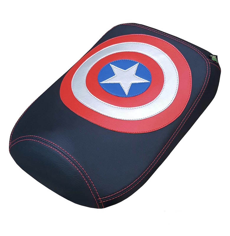 Honda Ruckus Seat Cover Captain America USA American Covers