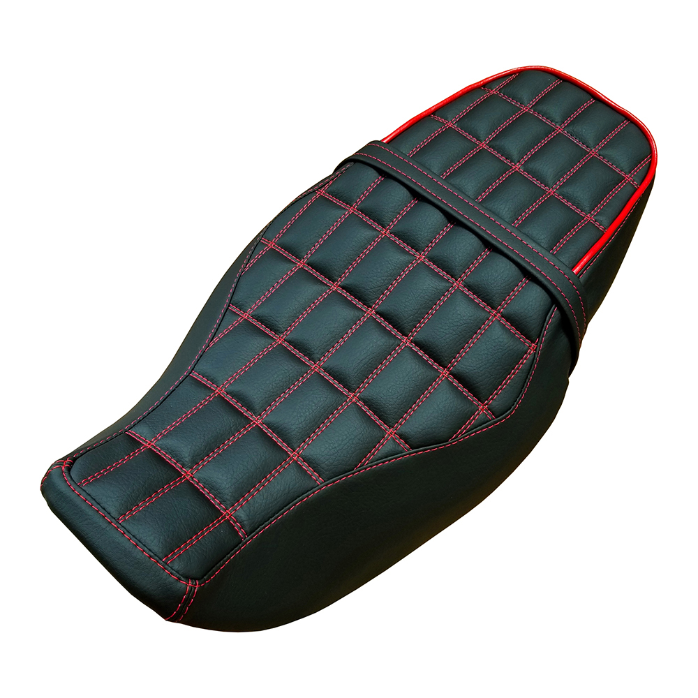 Honda Grom Grid Rectangle Stitch Handmade Seat Cover 2013 -2019