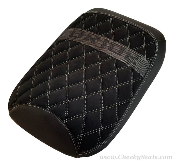 Honda Ruckus BRIDE Diamond Suede seat cover, Alcantara® option