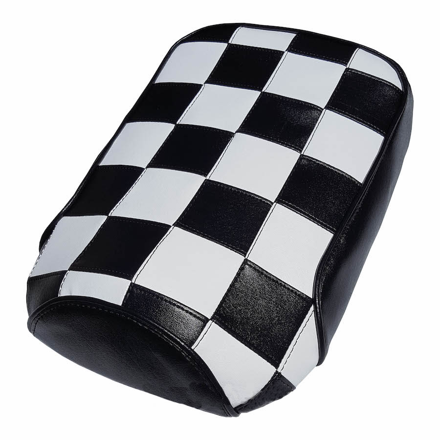 Honda Ruckus Scooter Seat Cover Ska Mod Racing Checkers