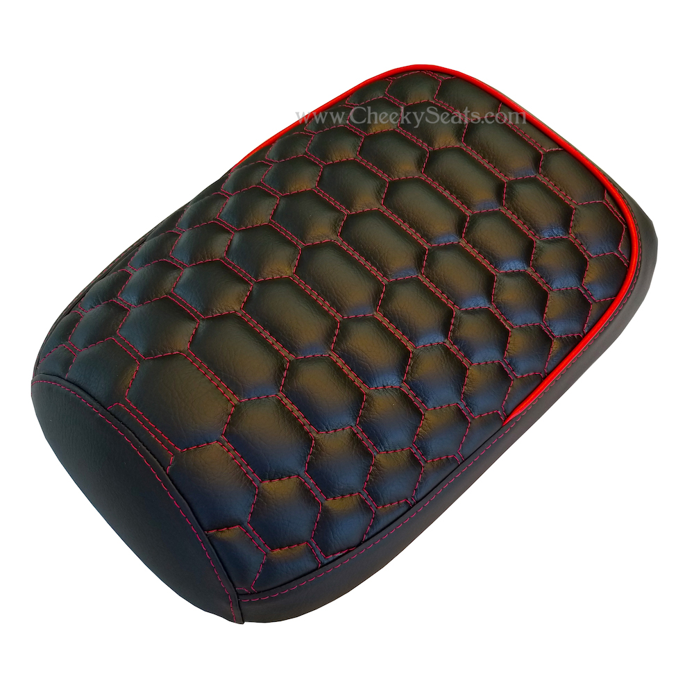 Honda Ruckus Multi Hexagon Honeycomb Zoomer Seat Cover Handmade