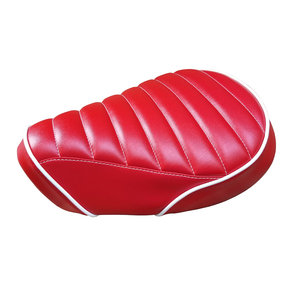 Honda Super Cub C125 Seat Cover Red Padded Handmade SuperCub