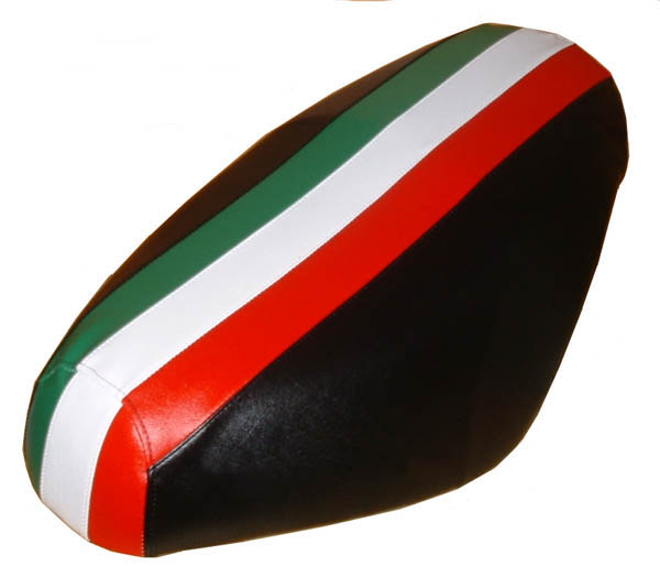 Italian Stripe Scooter Seat Cover Genuine Buddy Waterproof