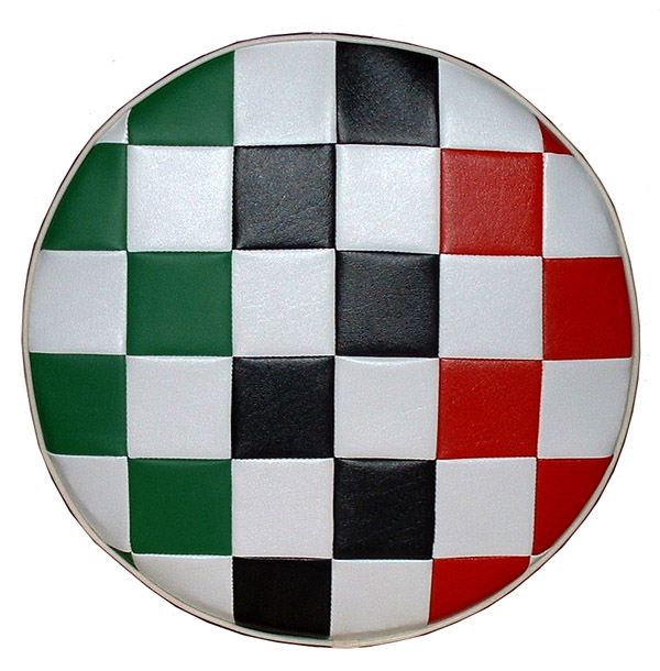 Italian Flag Mod Checks Scooter Spare Tire Covers 10 inch wheel