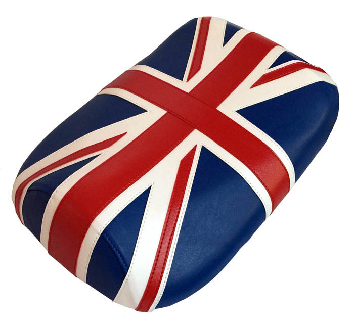 Union Jack Maddog 50 / 150 Scooter Seat Cover British Flag