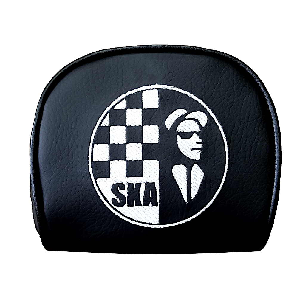 Ska 2 Tone Man Cuppini Scooter Backrest Pad Cover Vespa