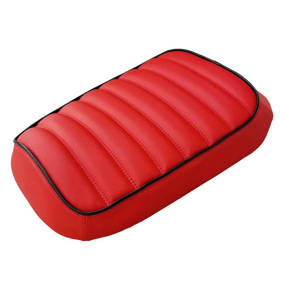 Honda Ruckus Seat Cover, Red Hot Padded with Piping
