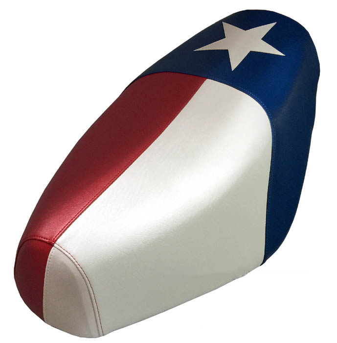 Texas Flag Scooter Seat Cover Genuine Buddy Waterproof