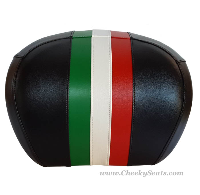 Italian Racing Stripe Vespa Scooter Seat Cover GTS 250 300
