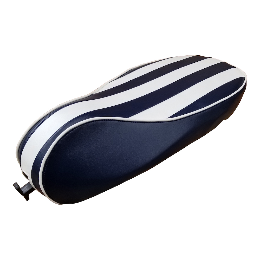 Vespa Sprint Primavera Yacht Club Seat Cover Stripes Handmade