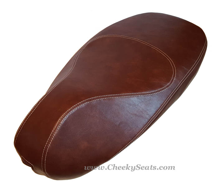 Vespa Sprint Primavera 50 150 Distressed Whisky Brown Seat Cover