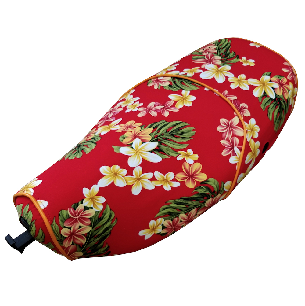 Beautiful Hawaiian Flowers Floral Vespa LX SEAT COVER 50 150