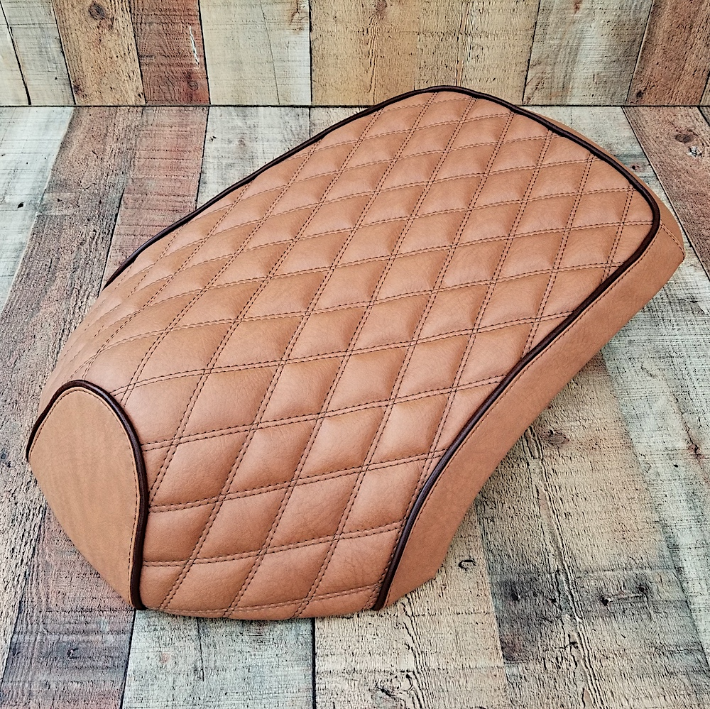 Yamaha C3 XF 50 VOX Giggle Diamond Tan Brown Seat COVER