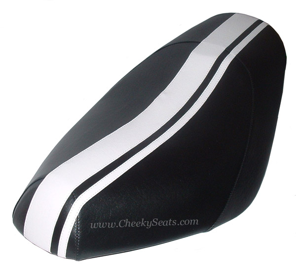 Genuine Buddy Racing Stripe Scooter Seat Cover Waterproof