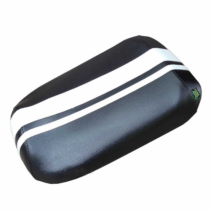 Honda Ruckus Dual Racing Stripe Seat Cover - Waterproof