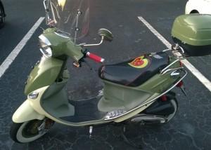 Buddy Italia Custom Hearts Seat
