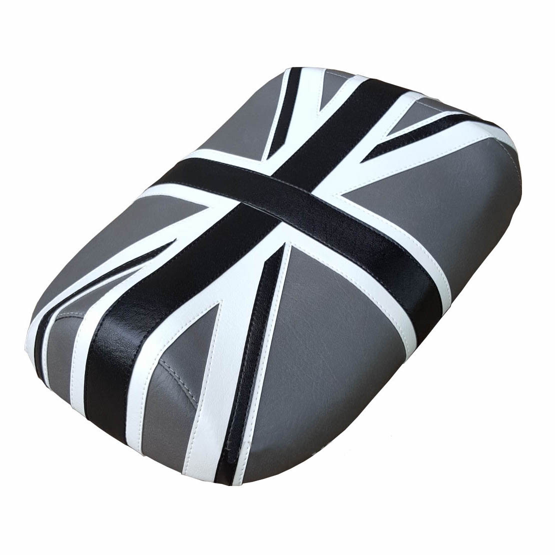 Union Jack Black and Gray Honda Ruckus Seat Cover British Flag