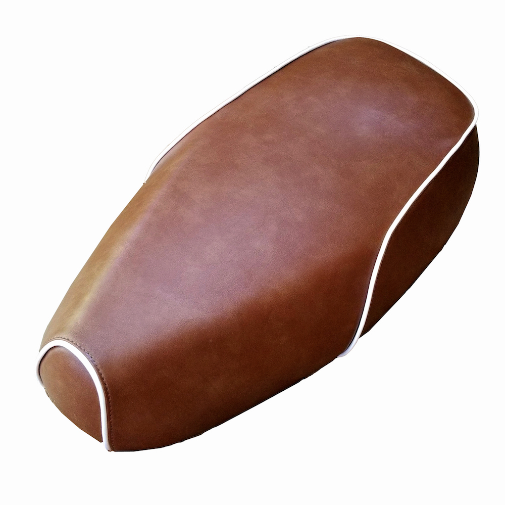 Buddy Kick Distressed Caramel Faux Leather Seat Cover Waterproof