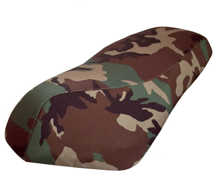 Genuine Roughhouse White or Green Camo Seat Cover Waterproof
