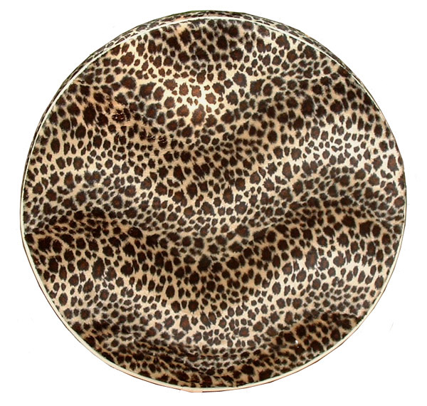 Brown Cheetah Scooter Spare Tire Covers Vespa Stella Lambretta
