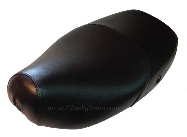 TOP LOOK! Classic Black Scooter Seat Saddle Cover, Waterproof