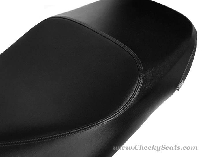 Classic Black Vespa GTS 250 300 Replacement Scooter Seat Cover