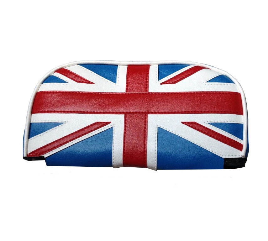 Cuppini Scooter Backrest Pad Cover Union Jack Vespa Rear Pad