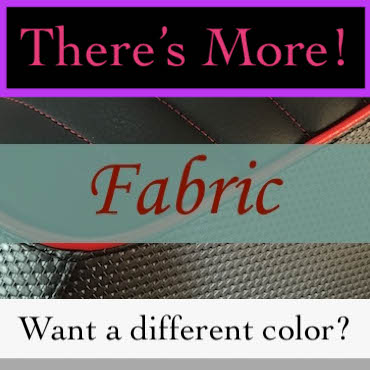 Visit our Fabric Section to see more Fabulous Options!