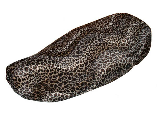 Cheetah Faux Fur Vespa LX Scooter Seat Cover Pick your Favorite!