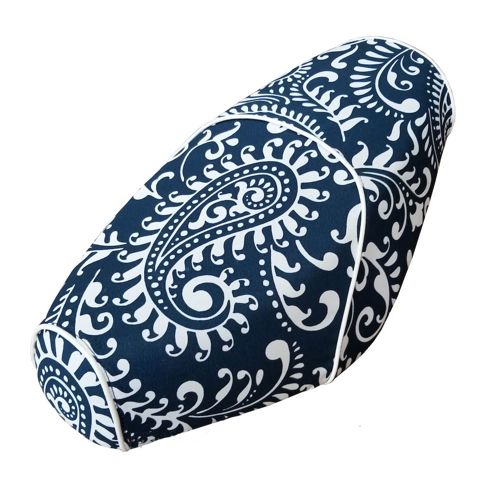 Genuine Buddy Paisley Scooter Seat Cover Water Resistant