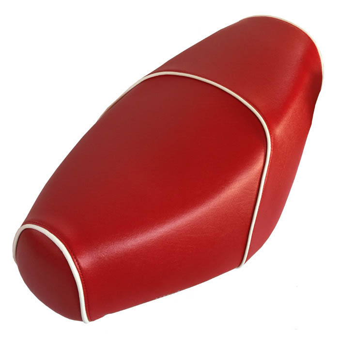 Lipstick Red Genuine Buddy Scooter Seat Cover Waterproof