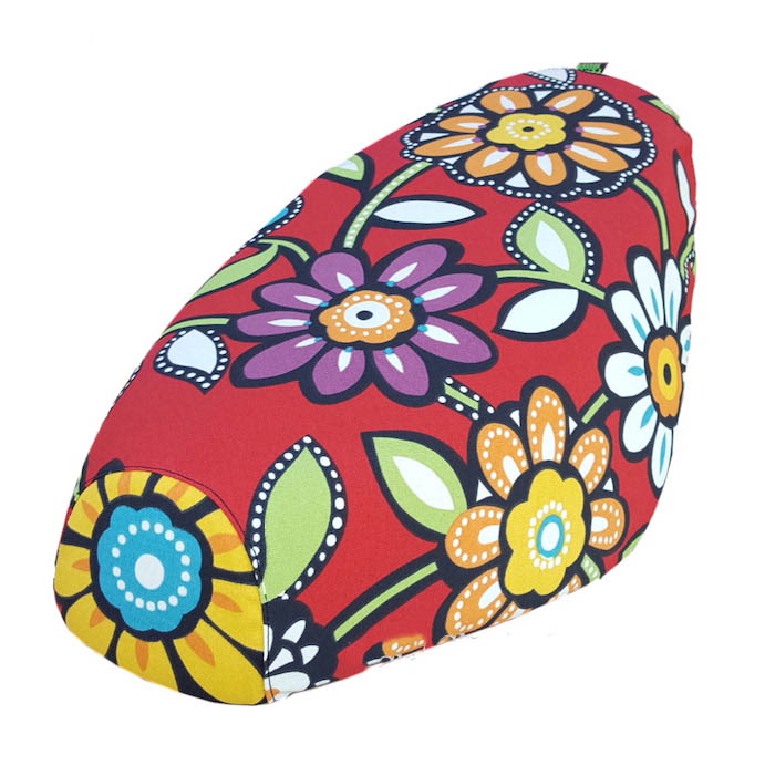 Genuine Buddy Flowers Scooter Seat Cover Water Resistant Floral