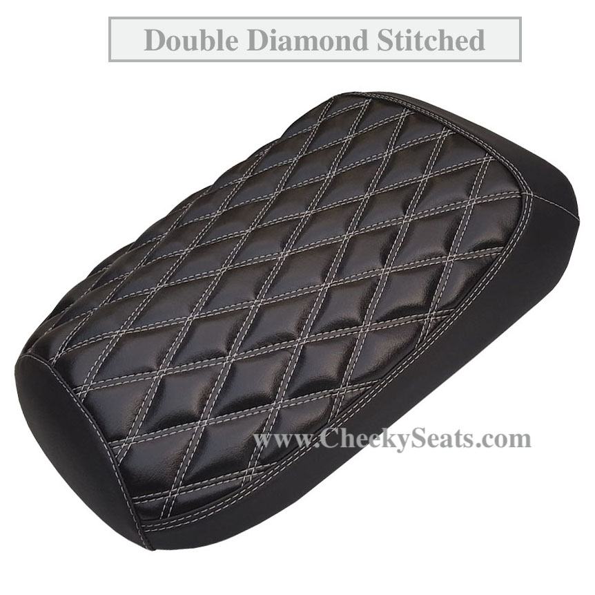 Honda Ruckus Seat Covers Black Diamond Stitch Upgrade Option