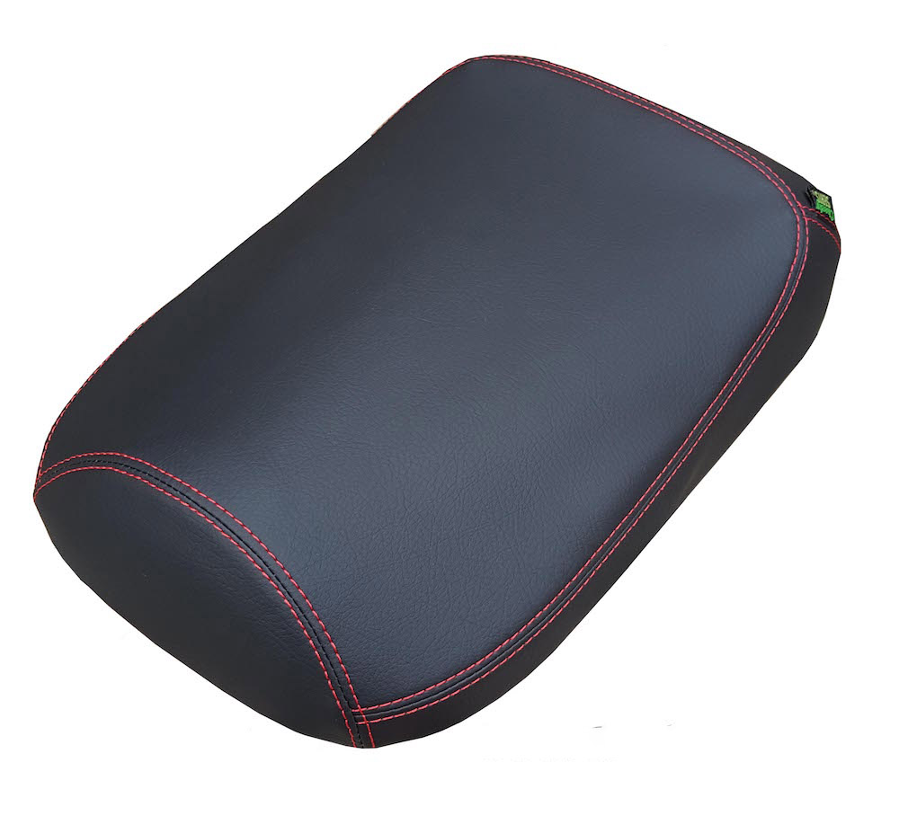 Honda Ruckus Premium Matte Black Seat Cover French Seams