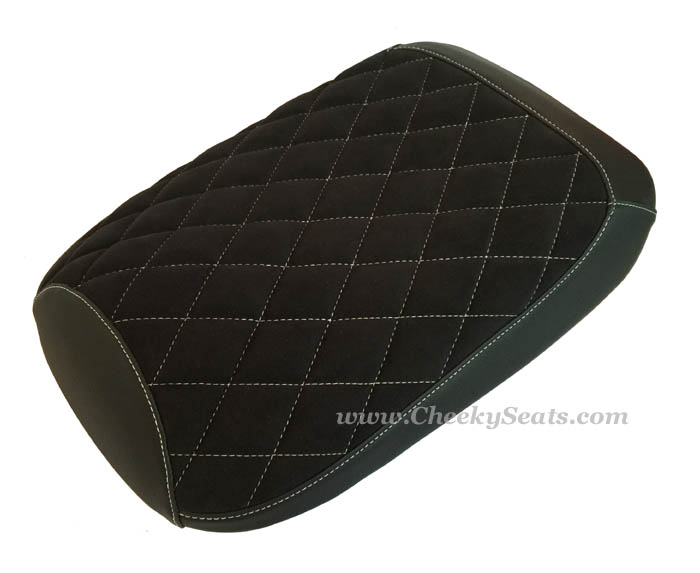 Honda Ruckus Diamond Stitch Suede Seat Cover Alcantara® option