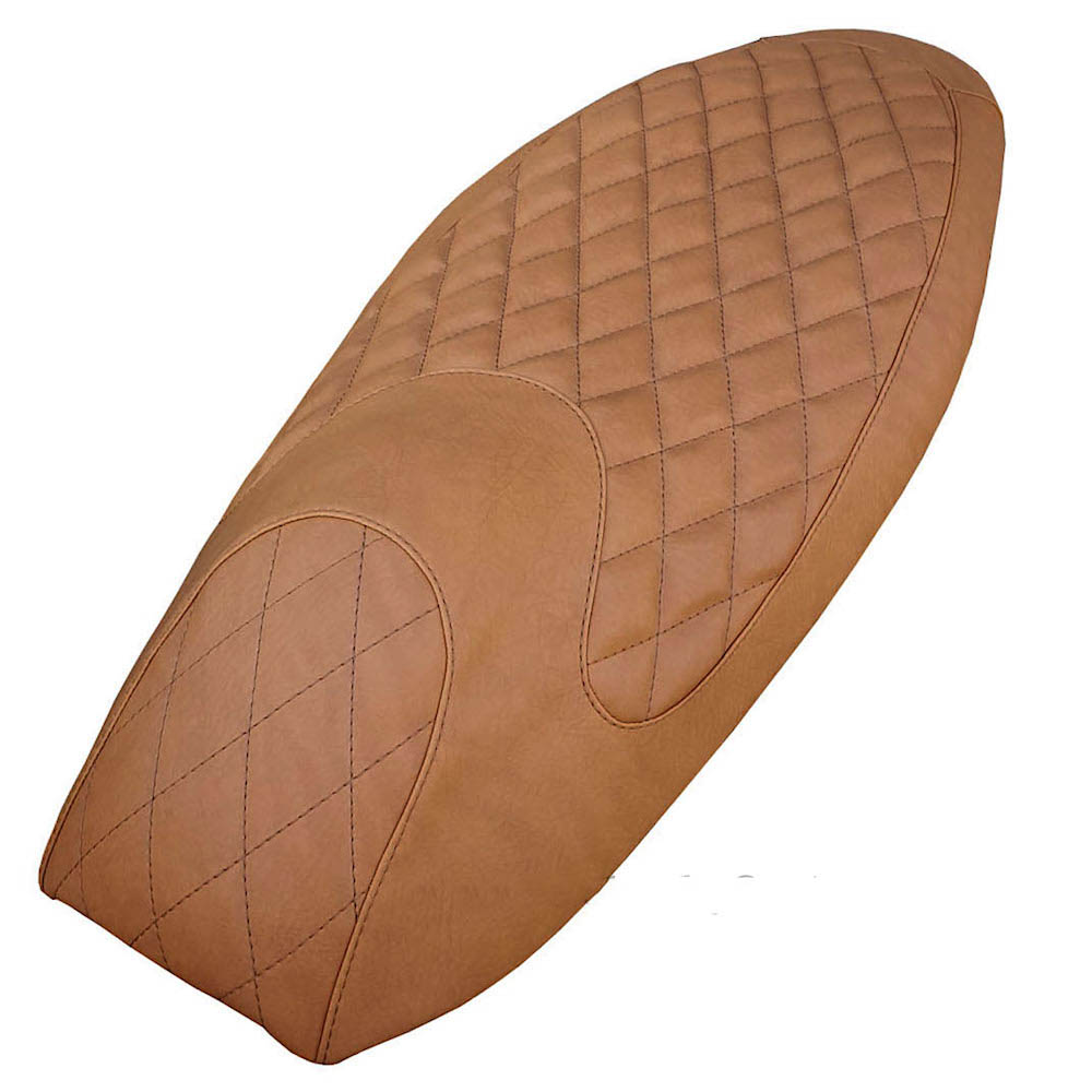 Honda PCX 2010-13 Diamond Golden Tan Seat Cover Handmade