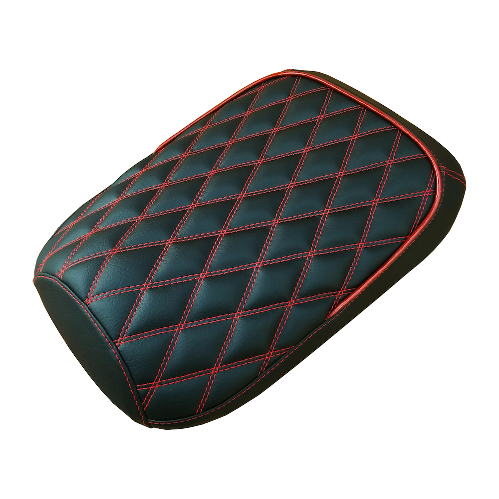 Honda Ruckus Seat Covers Double Diamond Seat Cover Half Piping