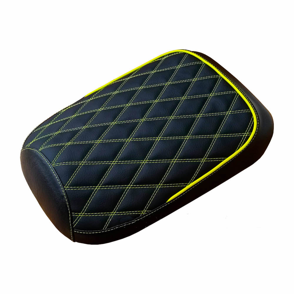 Honda Ruckus Seat Covers Double Diamond Hi Vis Shocker Yellow