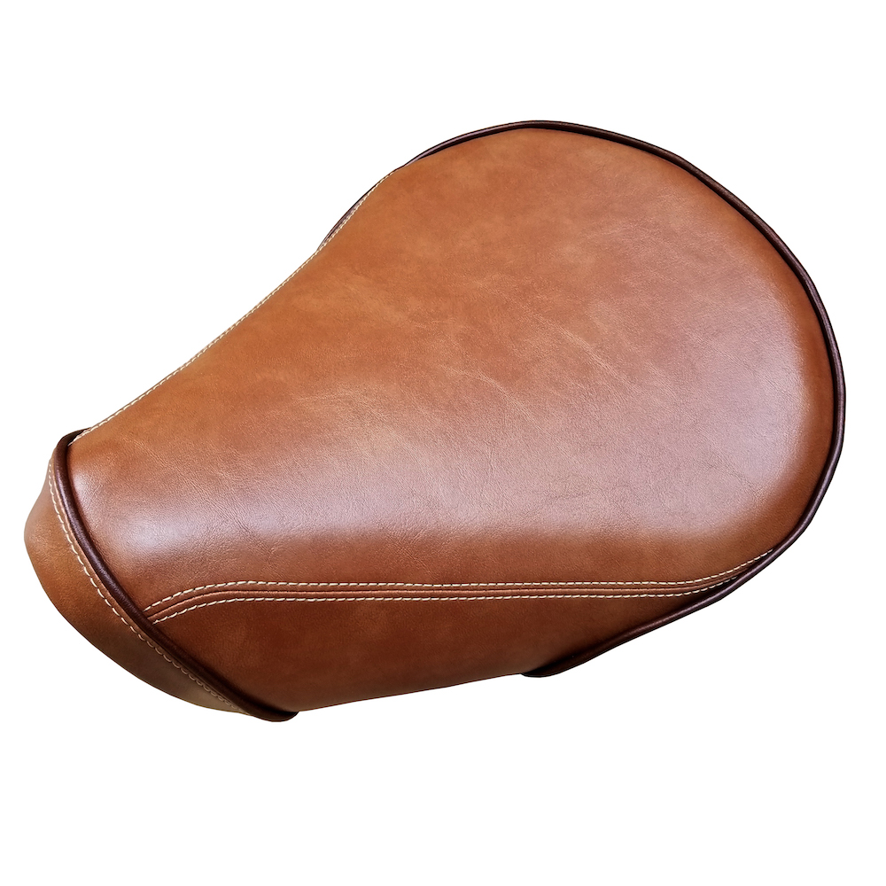 Honda Super Cub C125 Seat Cover Caramel Brown Handmade SuperCub