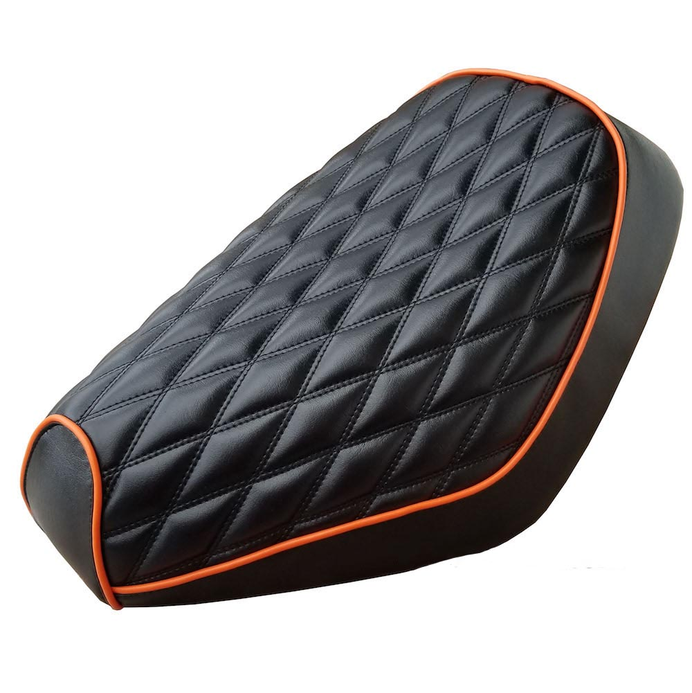 Honda Elite SA50 Double Diamond Stitch Seat Cover Customizable