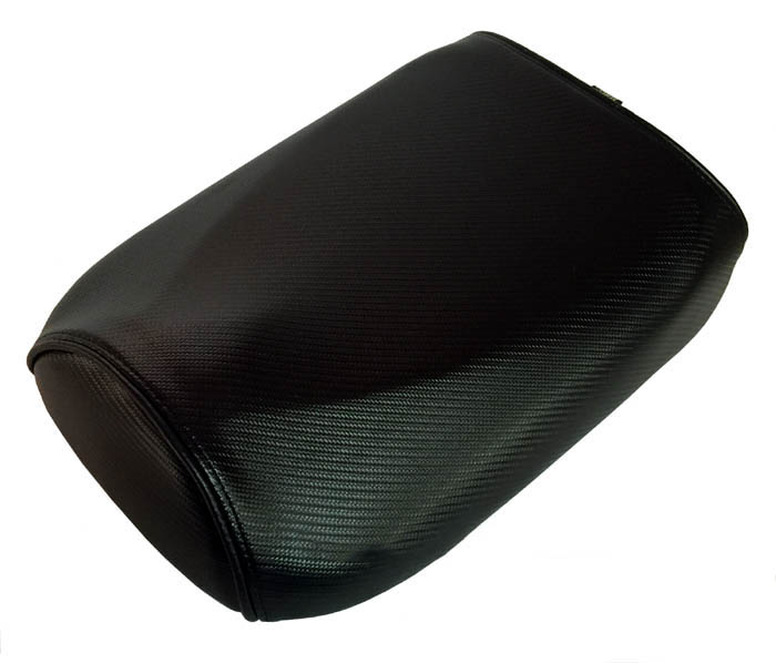Ice Bear Maddog Seat Cover Carbon Fiber with Piping Ruckus Clone