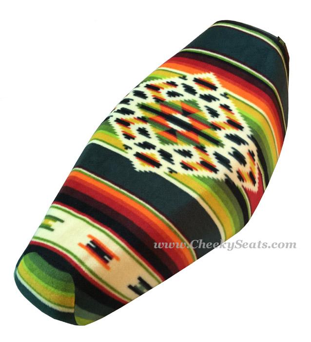 TOP LOOK Indian Blanket Aztec Southwest Seat Cover FLEECE