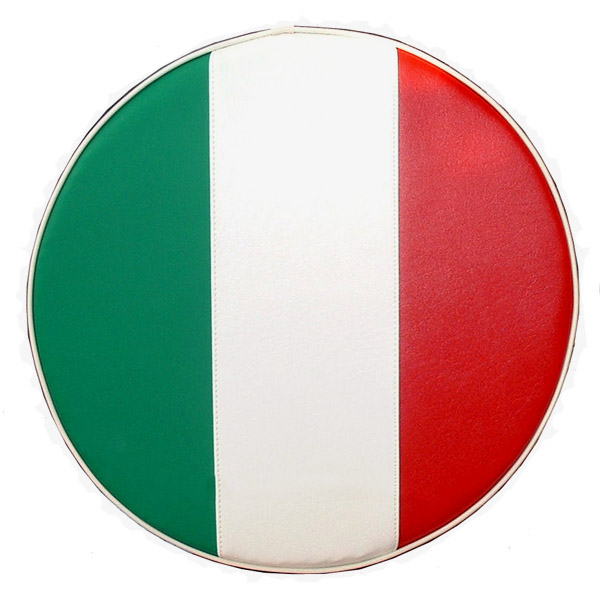 Italian Flag 10 inch wheel Vespa Stella Scooter Spare Tire Cover