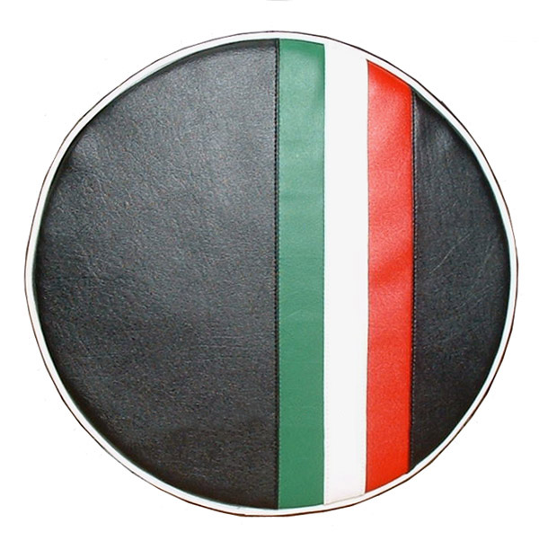 Italian Racing Stripe Vespa Lambretta Scooter Spare Tire Covers